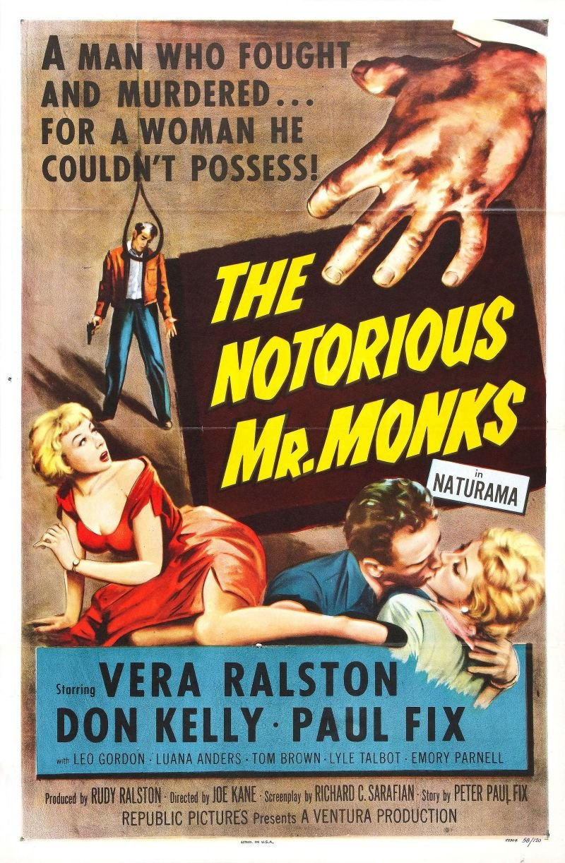 Notorious Mr. Monks, The
