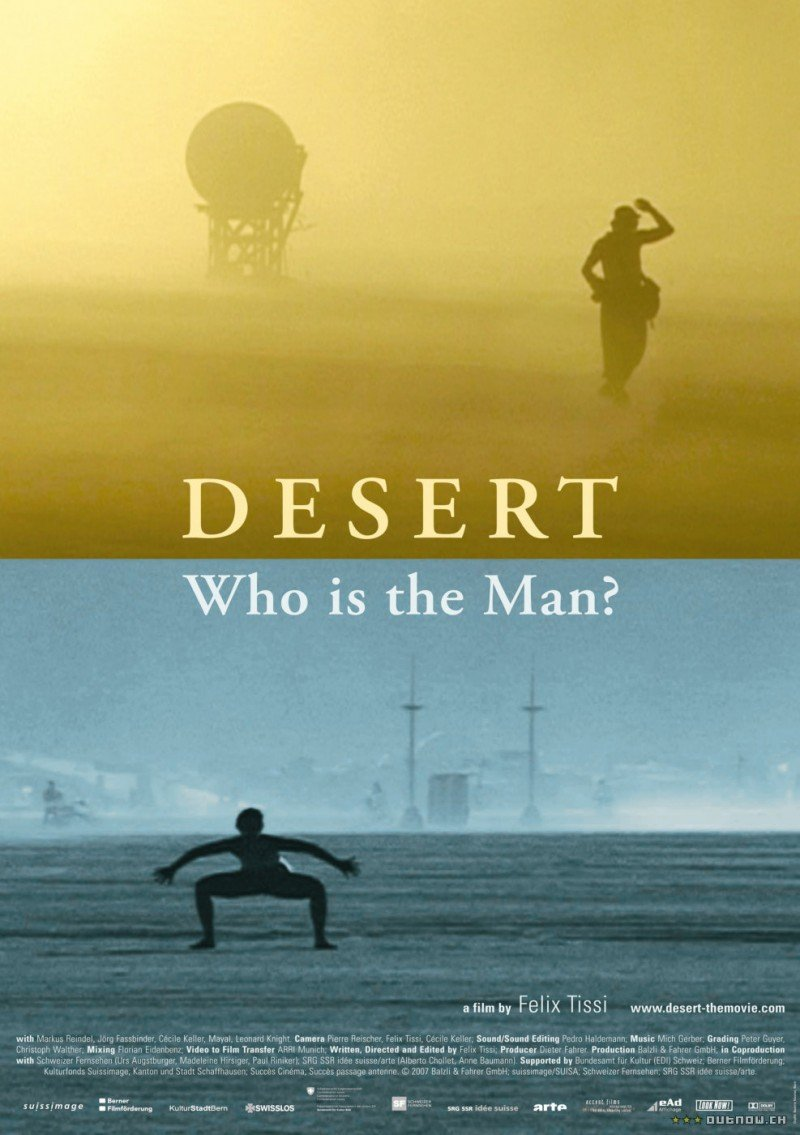Desert: Who Is the Man?