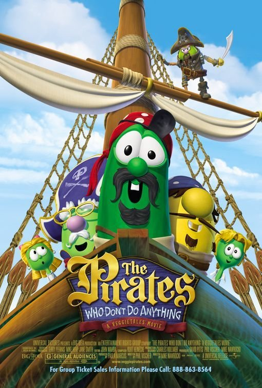 Pirates Who Don't Do Anything: A VeggieTales Movie, The