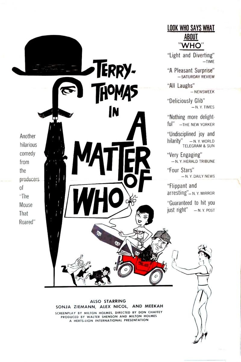 Matter of WHO, A